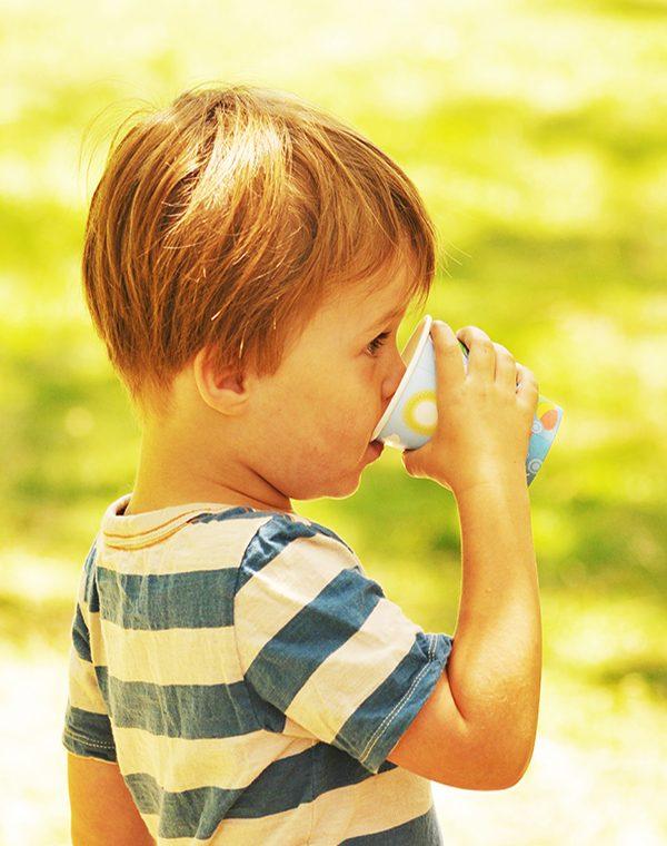 thé spécial enfant