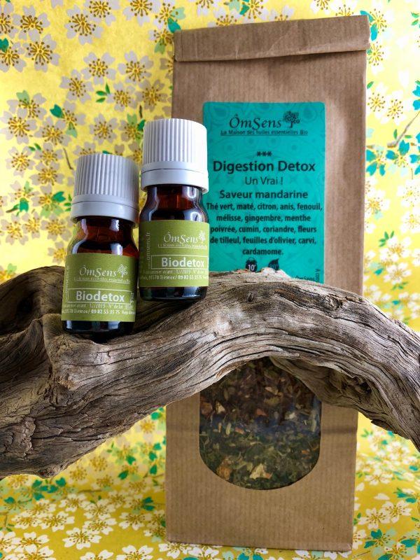 recette huiles essentielles Detox