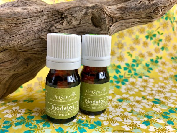 Synergie huiles essentielles Detox - Le Pack BioDetox = 2 fioles + 1 infusion !