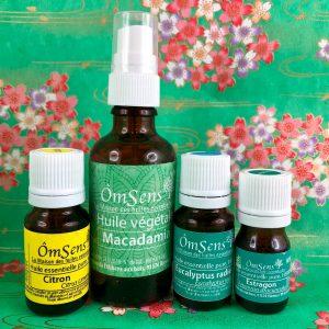 Kit Respiration Apaisée aux huiles essentielles