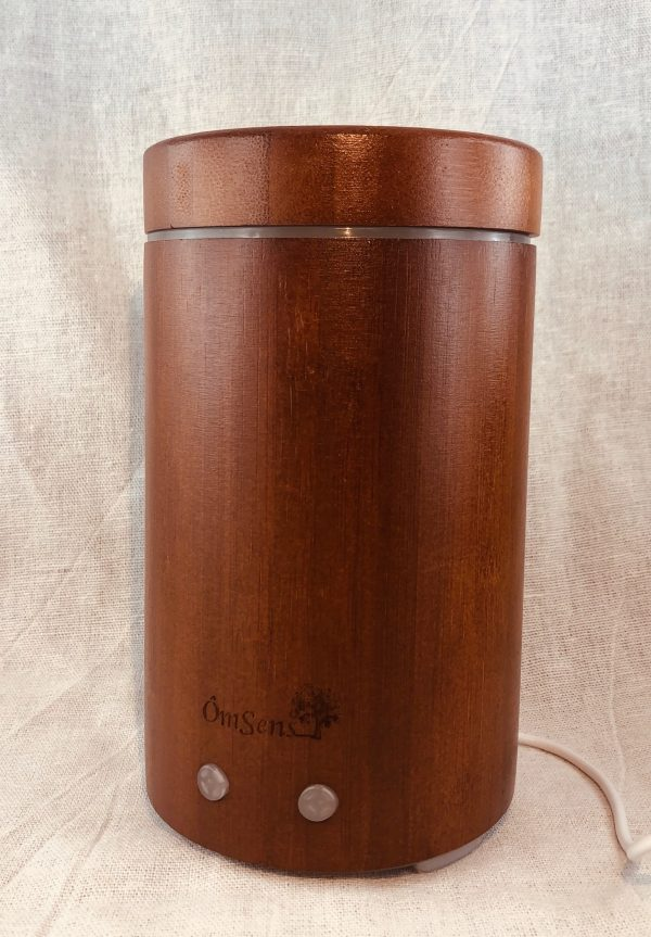Diffuseur d'huiles essentielles bamboo couleur teck