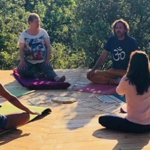 Entrée Festival Yoga du Sud