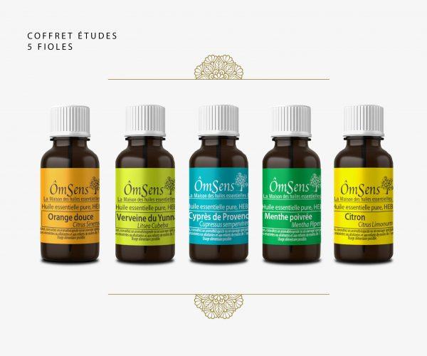 coffret huiles essentielles bio avec livre