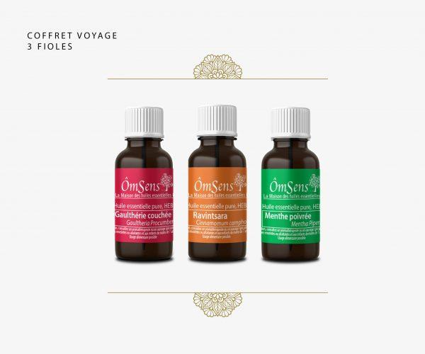 Coffret cadeau huiles essentielles bio