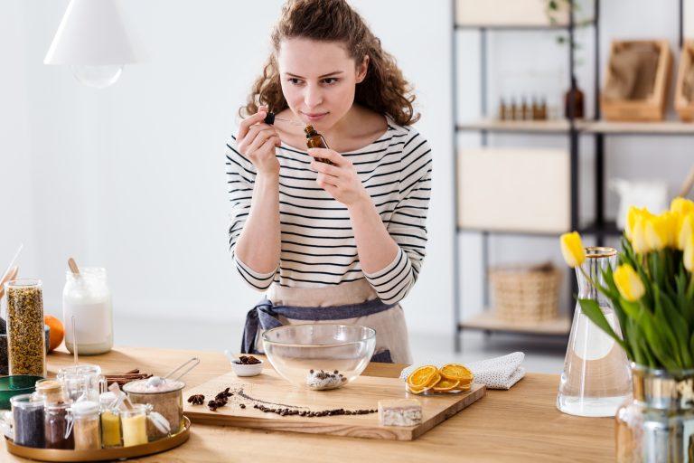 cuisiner huile essentielle